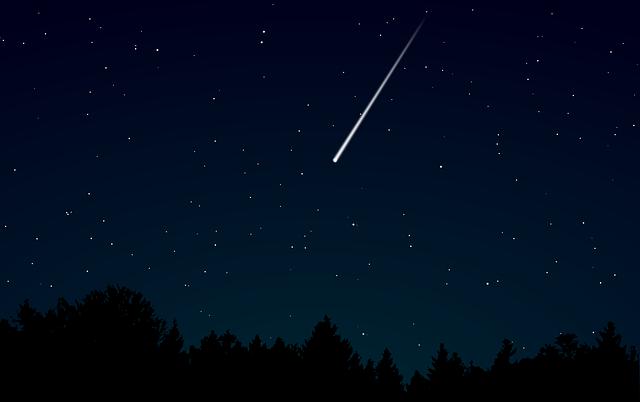 padající hvězda
