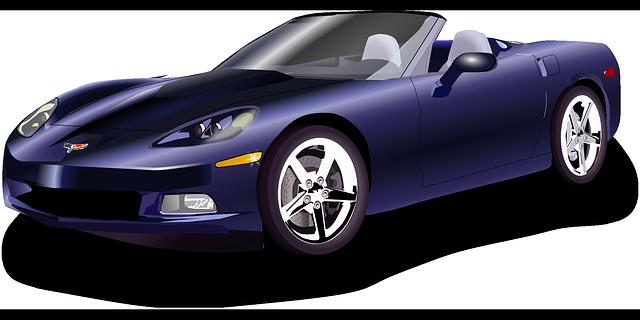 corvette sportovní automobil