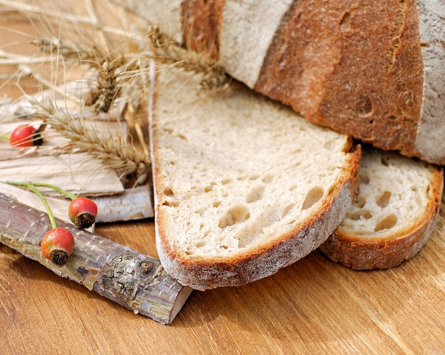 nakrájený chléb